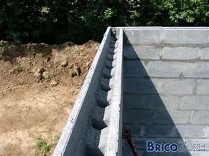 Que Mettre Sur Un Mur En Parpaing Interieur : ceinture b ton avec parpaing de cha nage ~ Melissatoandfro.com Idées de Décoration