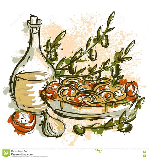 Italian Clip Free Clipart Italian Food Olive Collection