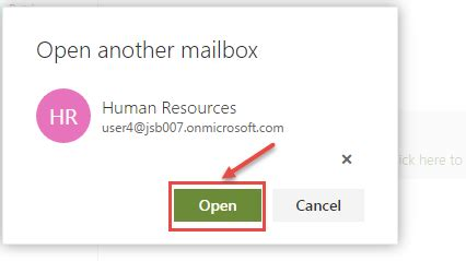 Office 365 Portal Open Shared Mailbox by How To Access Shared Mailbox In Outlook Web In Office 365
