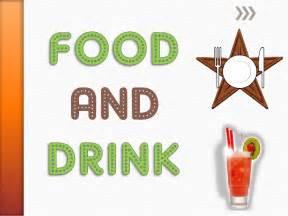 <b>Food</b> and <b>Drink</b> Vocabulary