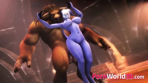 Anime Horny Draenei With Huge Nice Booty Fuck In All Poses
