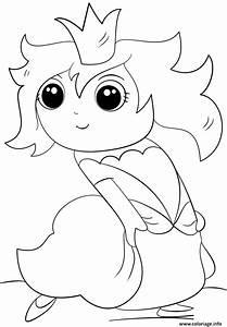 Coloriage Chibi Princess Kawaii