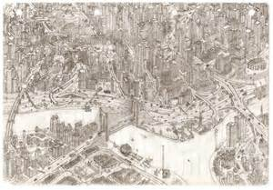 Drawing Imaginary Cities