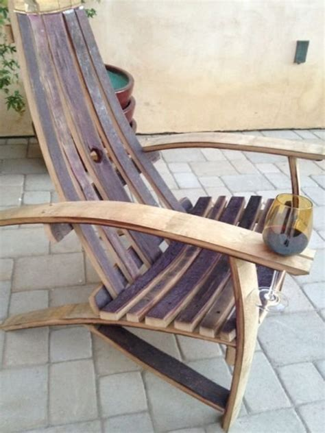 wine barrel adirondack chairs  fritter  lumberjocks