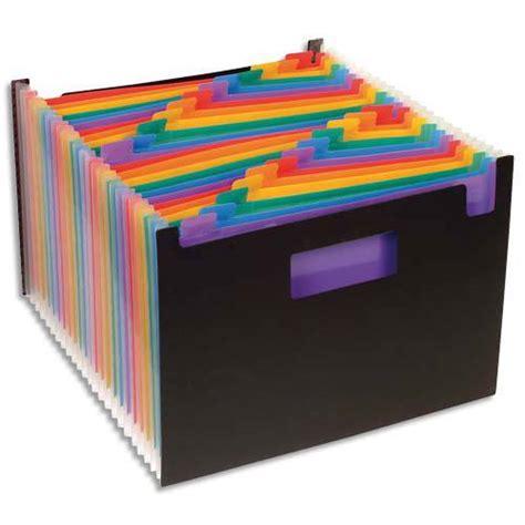 boite rangement papier administratif trieur seatcase 24 compartiments trieur de bureau porte revue seat seatcase rainbow class