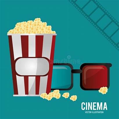 Glasses Filmstrip Cinema Corn Pop Eps Kinos