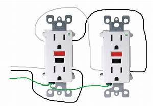 Electrical - How Do I Properly Wire Gfci Outlets In Parallel