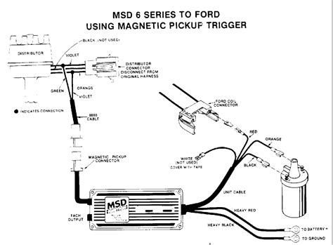 6al Msd Ignition Wiring Diagram by Msd Ignition 6al 6420 Wiring Diagram Volovets Info