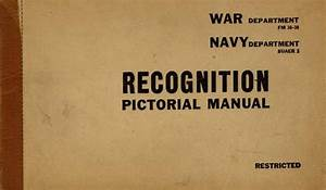 Recognition Pictorial Manual  Navy