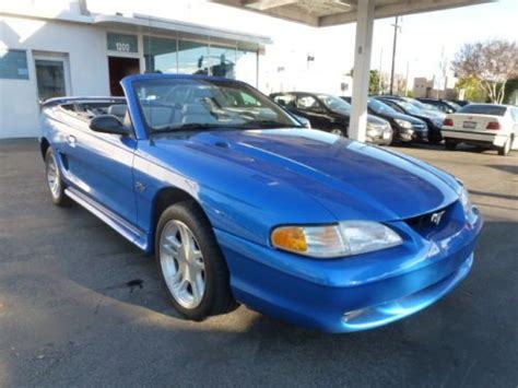 buy   ford mustang gt convertible   speed