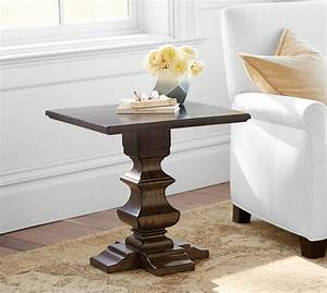banks side table pottery barn With banks bed pottery barn