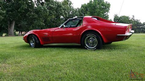Automatic Bid 1972 Chevrolet Corvette Ls5 454 Automatic Bid To