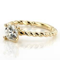Gold Engagement Rings for Women