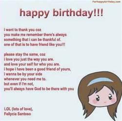 Funny Happy Birthday Best Friend Poems
