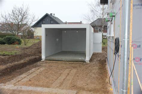 Die Garage Von Zapf Ist Da › Wir Bauen Dann Mal Ein Haus