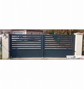 Portail Electrique Battant : portail electrique battant 2 3 ajour barreaudage ~ Melissatoandfro.com Idées de Décoration
