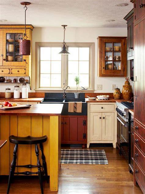 Cozy Kitchen Warm Colors by Kitchens Home Kitchens Farmhouse Rustic Armoire De