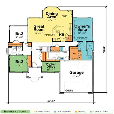 two bedroom cottage plans borderline genius one home plans abpho
