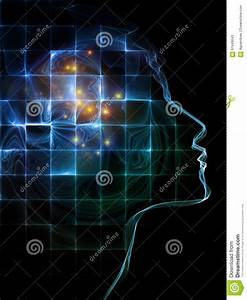 Medium For Mind Stock Illustration - Image: 61949043