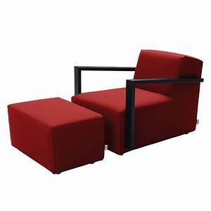 Tom Tailor Sessel : sessel lazy webstoff mit hocker rot tom tailor online kaufen bei woonio ~ Indierocktalk.com Haus und Dekorationen