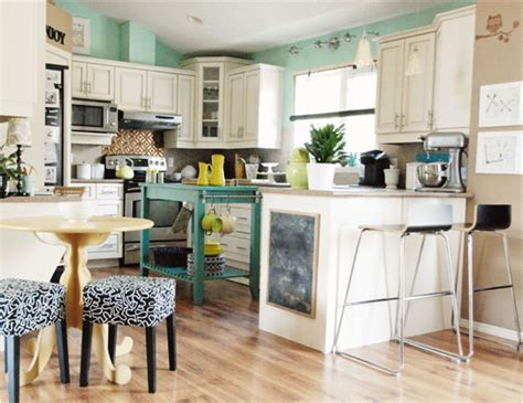 green blue kitchen color crush blue and green kitchens room design inspirations 1349