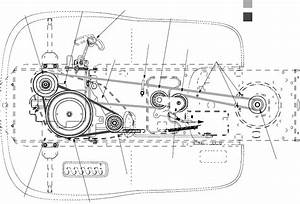 34 Troy Bilt Ltx 1842 Belt Diagram