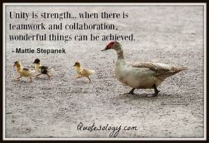 30 Inspirationa... Strength And Teamwork Quotes