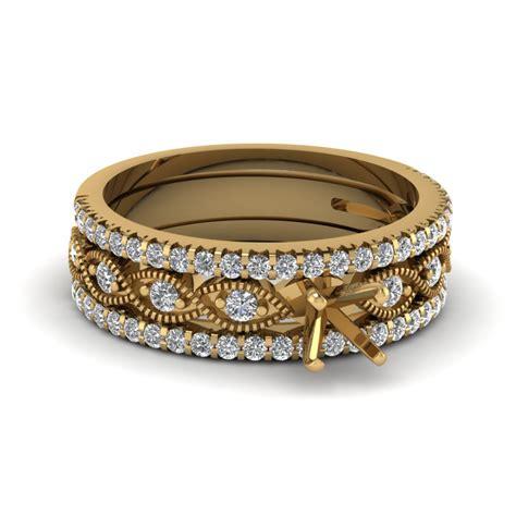 ring settings without center diamond fascinating diamonds