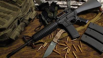 M16 4k Rifle Gun Army Bullets Military