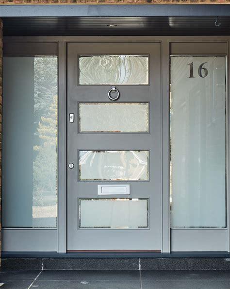 modern grey front door london door company