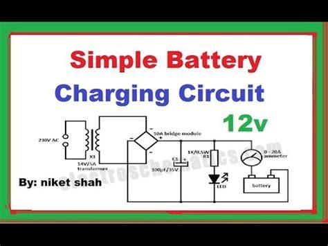 Simple Battery Charging Circuit Hindi Niket Shah