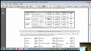 How To Make Noun Chart Grammar 02 Quick Overview Of Pronouns Singular
