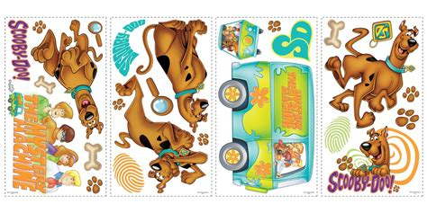 scooby doo removable decals baby  toddler