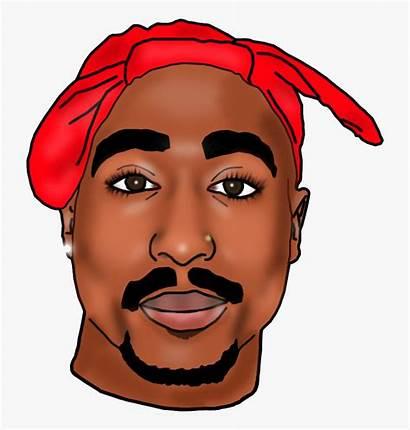 Tupac 2pac Shakur Clipart Thug Rapper Hip
