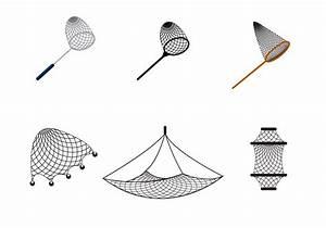 Free Fishing Net Vector