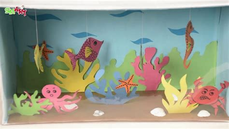 aqarium box diy art craft