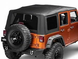Smittybilt Jeep Wrangler Premium Replacement Soft Top W