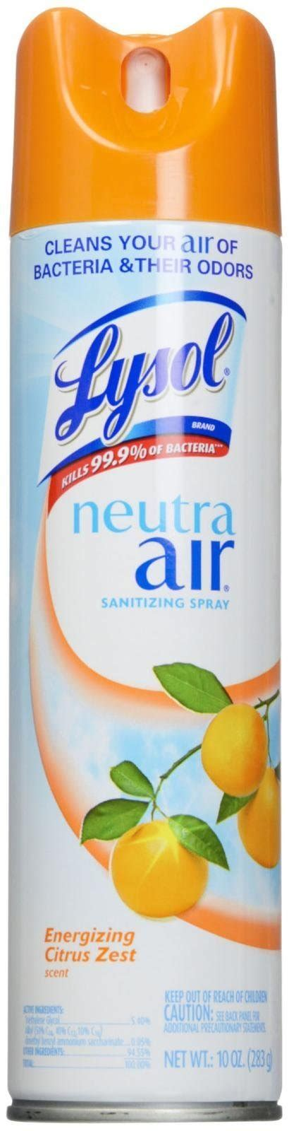 Amazon.com: Lysol Neutra Air Sanitizing Spray Air