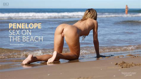Penelope Sex Am Strand