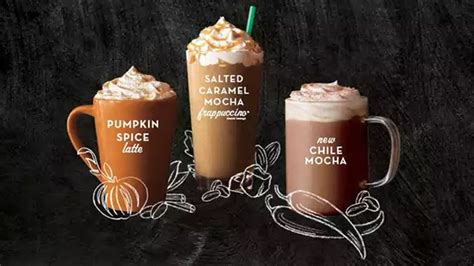 The starbucks secret menu is real and full of delicious drinks! A guide to all the fall Starbucks drinks: A gift on National Coffee Day.
