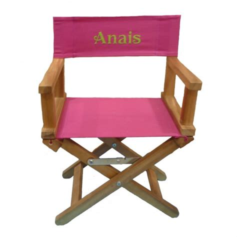 chaise metteur en scène bébé fauteuil metteur en scène brodé prénom bébé 3 6 ans