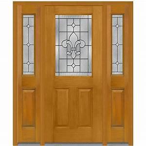 MMI Door 64 5 inx 81 75 inCarrollton Decorative Glass