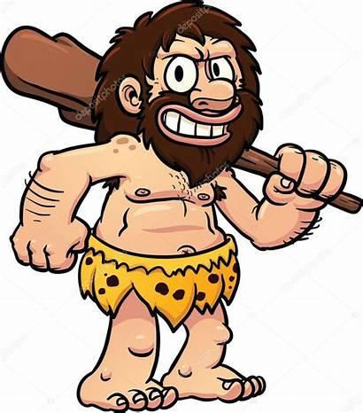 Caveman Cartoon Zaman Prasejarah Cavernas Homem Das