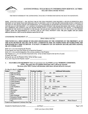 texas real estate forms fillable 2014 2018 form tx sellers disclosure notice fill online