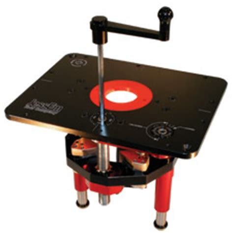 mast  lift ii accessories router height adjustment