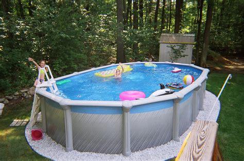 Above Ground Swimming Pool Maintenance