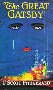 Image result for the great gatsby book cover