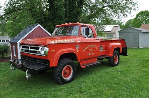 1970 dodge power wagon 4x4. 1970 Dodge Power Wagon W 300 Brush truck for sale - Dodge ...