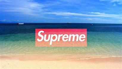 Supreme Wallpapers Desktop Cool Beach Pc Laptop