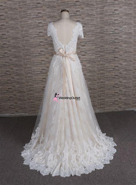 amalfi boho vintage beach lace wedding dress